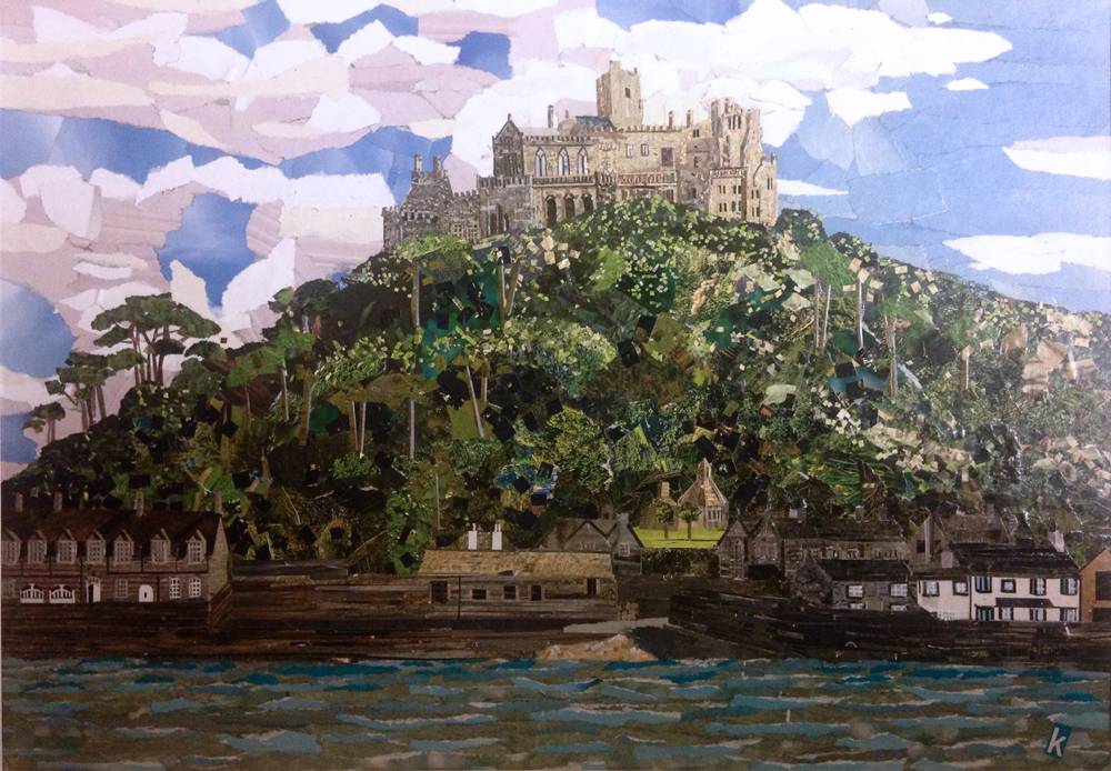 St Michael's Mount Artwork